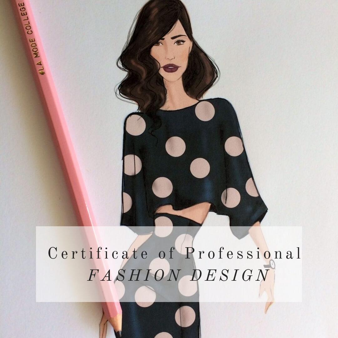 Fashion Design Course online by La Mode College